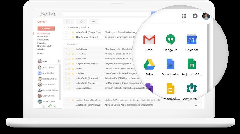 Ventajas de usar G Suite de Google para tu empresa