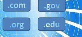 ¿Qué tipo de dominio web comprar?